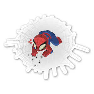 Baby Spiderman  sticker