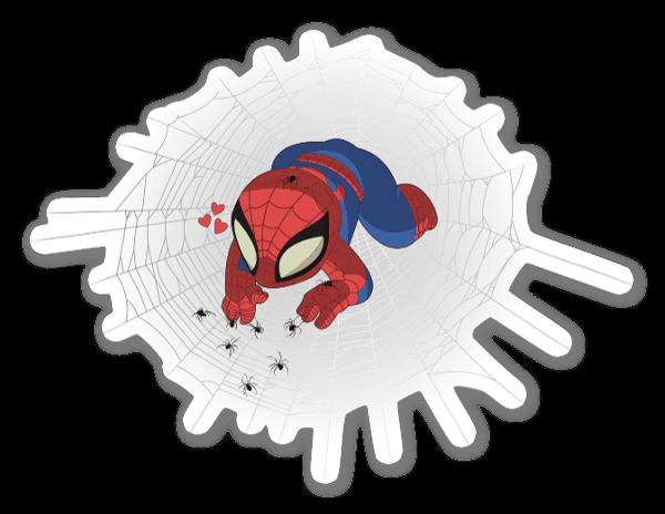 Baby Spiderman  sticker