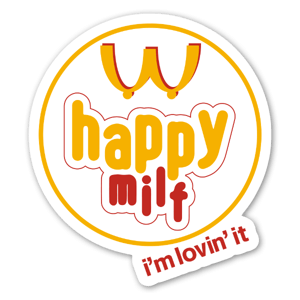 Happy Milf sticker
