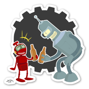 Nono Bender sticker