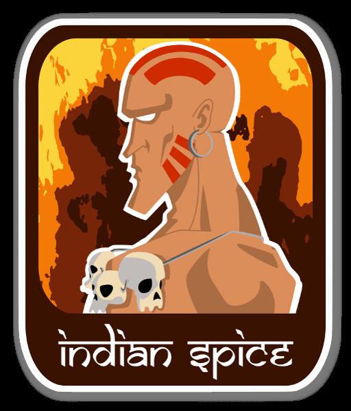 Indian Spice  sticker