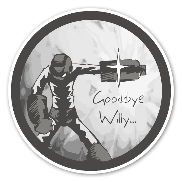 Megaman Willy sticker