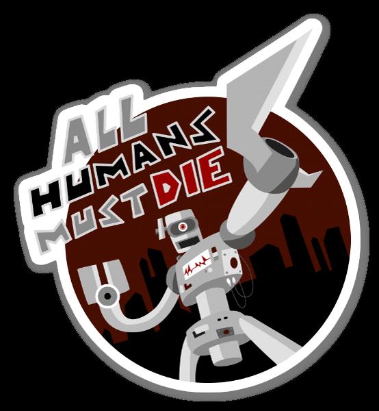All humans most die  sticker