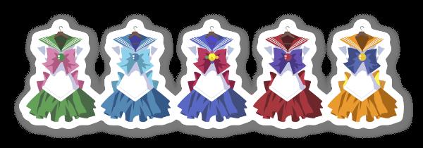 Sailor fuku  sticker