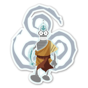 The last Air Bender sticker