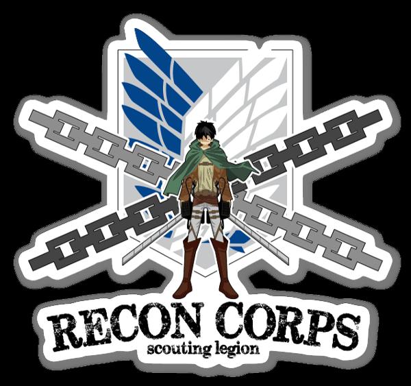 Recon Corps  sticker
