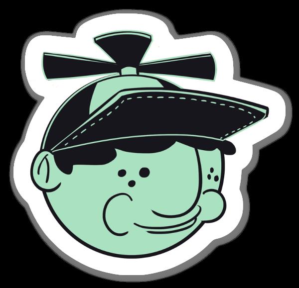 Kid face  sticker