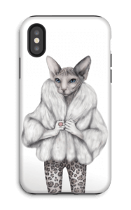 Little miss purr-fect skal IPhone X tough