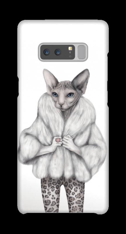 Little miss purr-fect skal Galaxy Note8