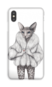 Little miss purr-fect deksel IPhone XS Max