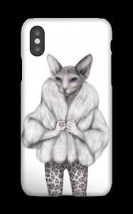 Little miss purr-fect deksel IPhone XS