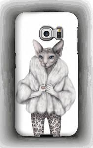 Little miss purr-fect skal Galaxy S6 Edge