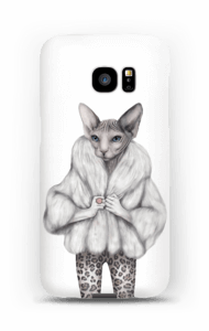Little miss purr-fect case Galaxy S7 Edge