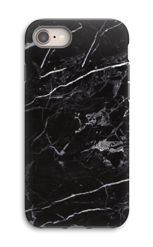 Black Marble case IPhone 8 tough