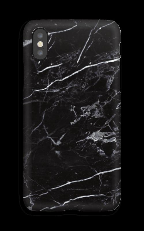 Svart marmor deksel IPhone X
