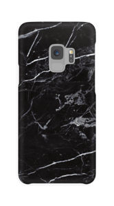Black marble case Galaxy S9