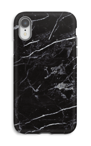 Black Marble Coque  IPhone XR tough