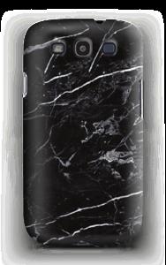 Zwart marmer hoesje Galaxy S3