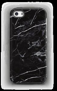 Svart marmor deksel IPhone 5/5s tough