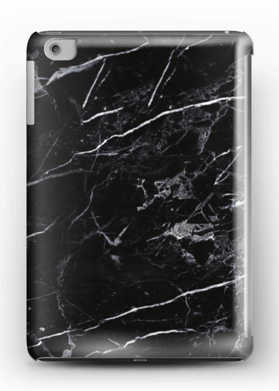 Svart marmor deksel IPad mini 2