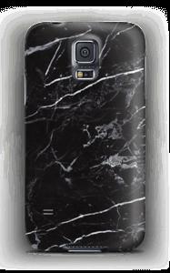 Schwarzer Marmor Handyhülle Galaxy S5