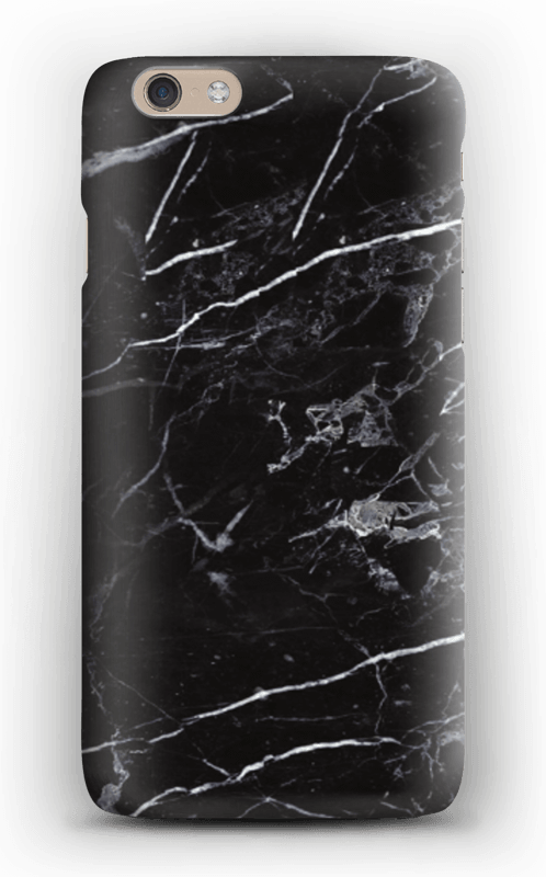 finest selection 029e9 66a6e Black Marble - iPhone 6 case