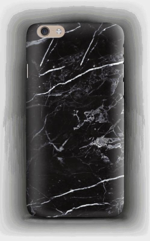 Svart marmor deksel IPhone 6 Plus