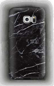 Schwarzer Marmor Handyhülle Galaxy S6 Edge