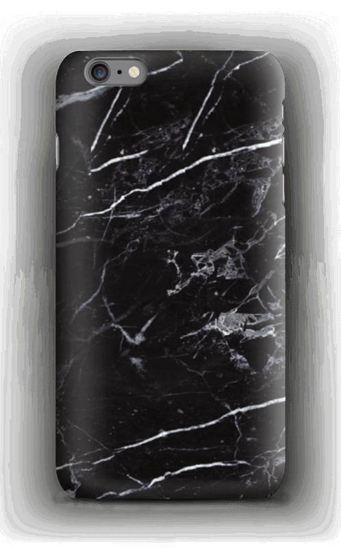 Svart marmor deksel IPhone 6s Plus