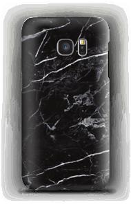 Schwarzer Marmor Handyhülle Galaxy S7