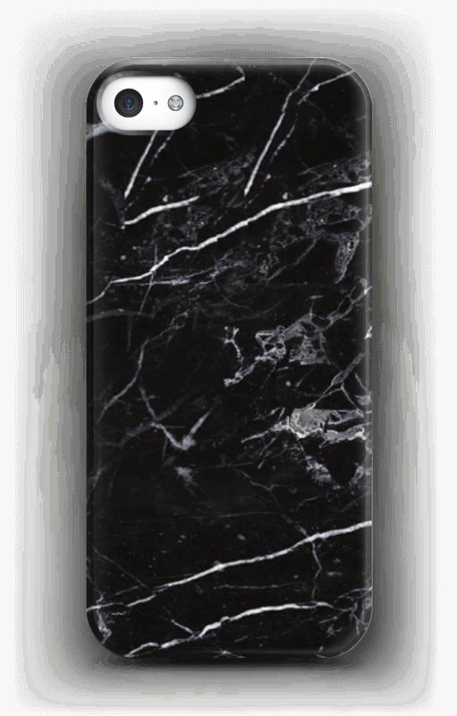 Zwart marmer hoesje IPhone SE
