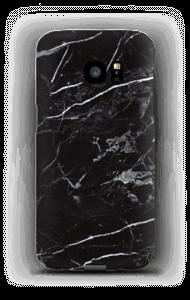 Zwart marmer hoesje Galaxy S7 Edge