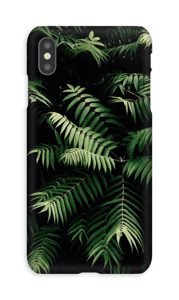 Plantas tropicales funda IPhone XS Max