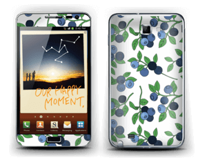 Blueberries everywhere ! Skin Galaxy Note