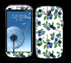 Blåbær Skin Galaxy S3