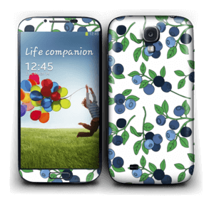 Blueberry forest Skin Galaxy S4