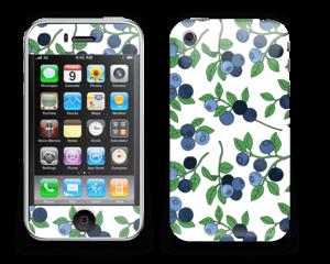Blueberries everywhere ! Skin IPhone 3G/3GS
