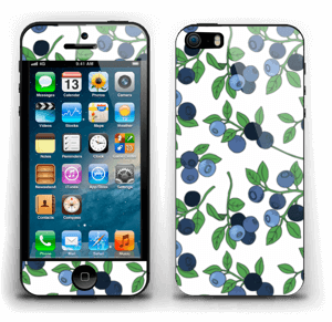 Blueberries everywhere ! Skin IPhone 5s