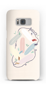 Peace & Surf Coque  Galaxy S8