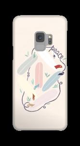 Surfen und Frieden Handyhülle Galaxy S9