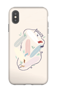 Peace & Surf Coque  IPhone XS Max tough