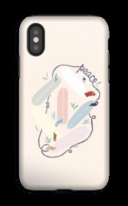 Peace & Surf Coque  IPhone XS tough