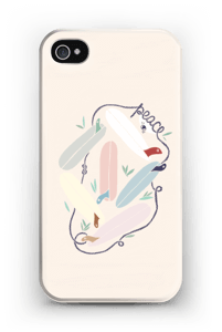Peace and Surf case IPhone 4/4s