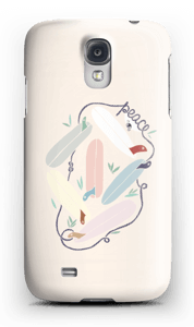 Peace and Surf case Galaxy S4