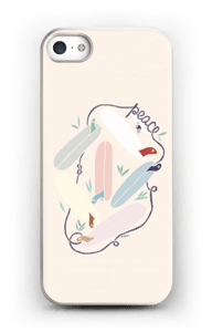 Peace and Surf case IPhone SE