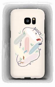 Peace and Surf kuoret Galaxy S7 Edge