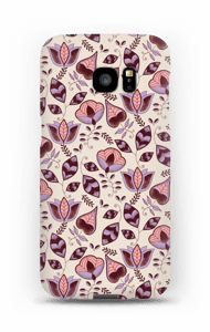 Lilac Wine case Galaxy S7 Edge