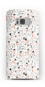 Woman flying in nature case Galaxy S8