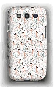 Lentävät naiset kuoret Galaxy S3