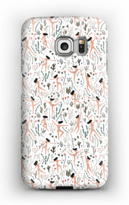 Woman flying in nature case Galaxy S6 Edge